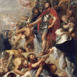 "Peter paul Rubens, ""The Triumph of Judas Maccabee,"" Museum of Fine Artsin Nantes"