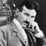 Nikola Tesla (1857-1943) American inventor. Photograph, 1915. --- Image by © Bettmann/CORBIS